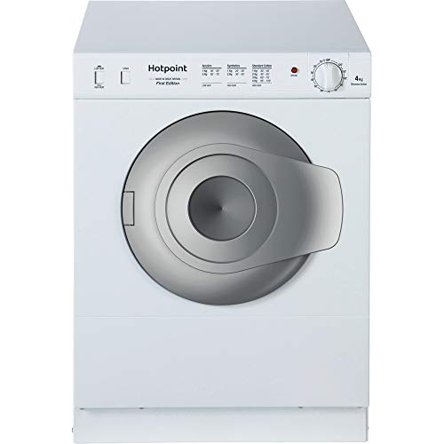 Hotpoint NV4D01P White 4KG Compact Vented Tumble Dryer