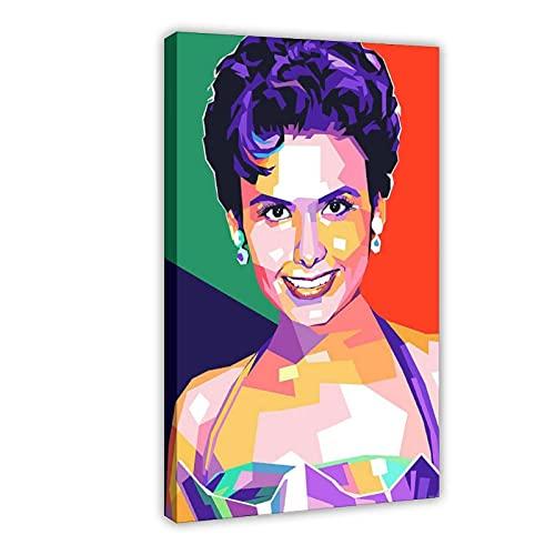 Lena Horne - Póster de lona con estrellas de actor (60 x 90 cm)