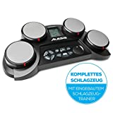 Alesis CompactKit 4 - E Schlagzeug Elektronisch mit Drumsticks