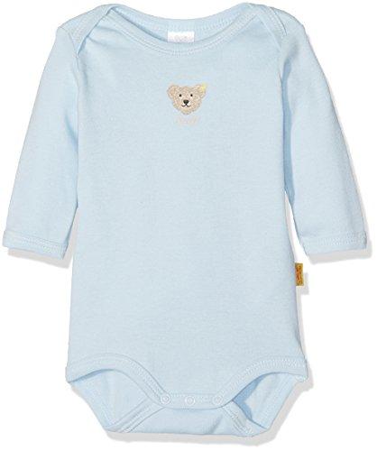 Steiff Unisex - Baby Body 0008502, Gr. 74, Blau (baby blue 3023)