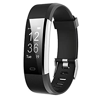 LETSCOM Fitness Tracker HR, Activity Tracker Watch with Heart Rate Monitor, Waterproof Smart Fitness Band with Step Counter, Calorie Counter, Pedometer Watch for Women and Men (B0779SKCXW) | Amazon price tracker / tracking, Amazon price history charts, Amazon price watches, Amazon price drop alerts
