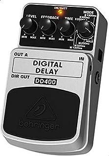 Behringer Digital Delay Pedal Effect, Black [DD400]