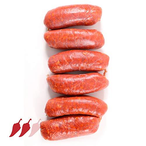 Scharfe frische Paprikawürstchen / Serranitos Mini ca. 500 gr.