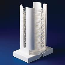Bel-Art Adjustable Width Petri Dish Dispenser Rack, 65mm to 100mm; ABS Plastic (F18982-0002)