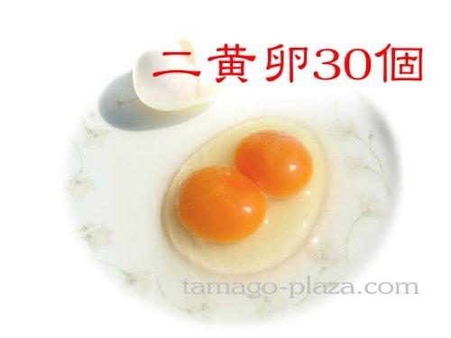 得した気分!の二黄卵30個入り (希少なたまご、お時間をいただく場合があります)