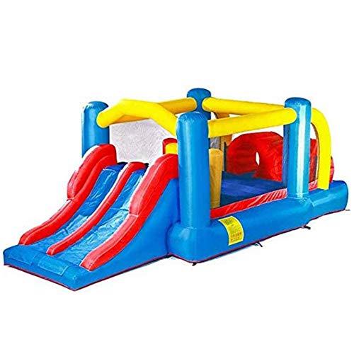 Zhihao Hüpfburg, aufblasbare Rutsche, Innen- und Außen Großes Spielzeug, Bouncy Trampolin, Kinderfreizeitpark Fitnessgeräte