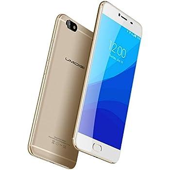 UMIDIGI C NOTA - Android 7.0 5,5 pulgadas 4G smartphone 1,5 GHz Quad Core 3 GB de RAM 32 GB Ultra-delgado 8,4 mm Metal Unibody 3800 mAh batería: Amazon.es: Electrónica