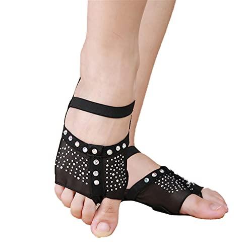 Marekyhm-es Las Mujeres Bailan el pabellón de la Danza del Vientre de la Danza de la Danza del pie de la Danza del pie de la Danza del pie Half Sun Diamond Decorada el tamaño 34-41