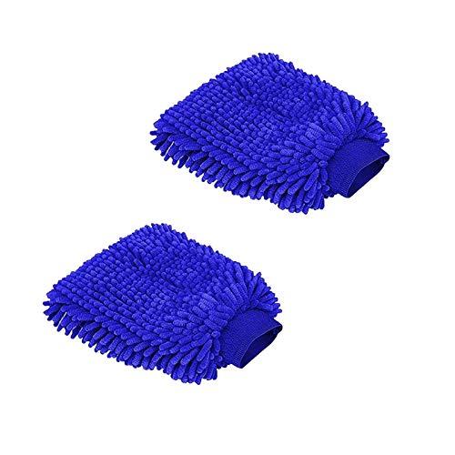 Autowaschhandschuh Wasserdicht Mikrofaser Waschhandschuh Reinigungshandschuh Reinigungstuch Reinigung Autopflege Polierhandschuh Pflege Handschuh Autowaesche
