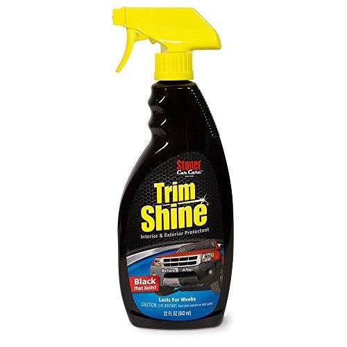 Trim Shine 92034 Nettoyant et Protection pour intérieur/extérieur