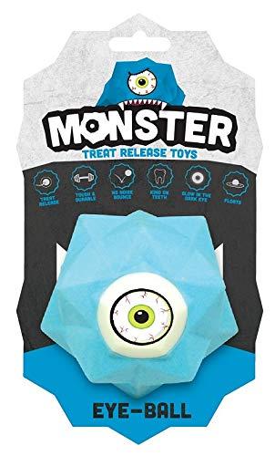 Demavic Balle Monster pour Chien Bleu Taille Grande 1 Unité
