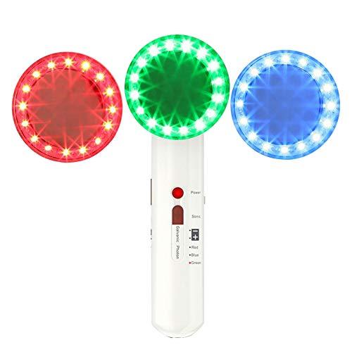 Body minceur massager portable 7 en 1 EMS rides enlèvement peau rajeunissement beauté cellulite raffermissante machine blanche