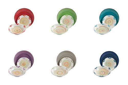 Villa D'Este Home Tivoli Baita - 2421471 - Tabla de flores (18 piezas, gres)