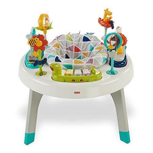 Fisher-Price Centro de actividades 2 en 1, mesa de actividades para niños...