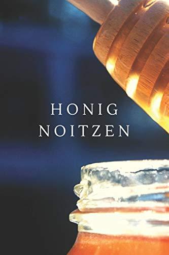 Honig Notizen: A5 Kariert Honig Buch, Notizbuch für Imker, Hobbyimker, Bienenzüchter, Biene 120 Seiten 6x9 | Organizer Schreibheft Planer zum Ausfüllen