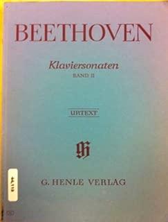 Beethoven Klaviersonaten Band II Urtext