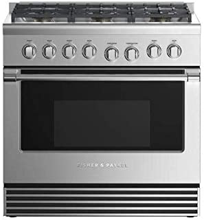 fisher and paykel 36 gas range
