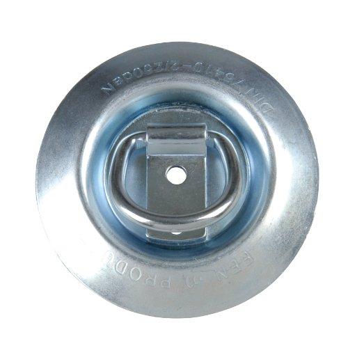 """UNITEC 10348 Zurrmulde \""""Basic\"""" mit Ring"""