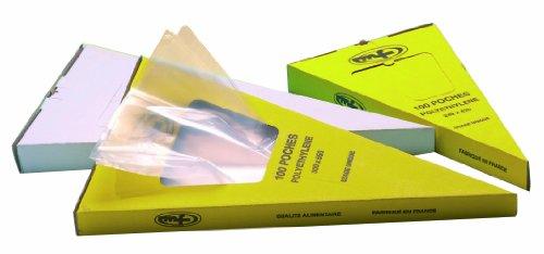POCHE PATISSIERE JETABLE POLYETHYLENE (x100) (GM 55 X 30 CM)