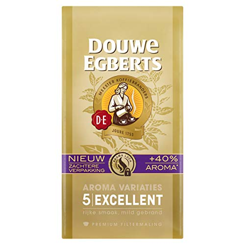 Douwe Egberts Filterkoffie Aroma Variaties Excellent Premium (3 Kilogram, Intensiteit 05/09, 100% Arabica Light Roast…