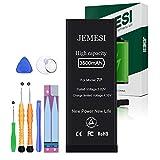 JEMESI Batería de 3500mAh para iPhone 7 Plus,Reemplazo con una Mayor Capacidad Que Otras Baterías, y Herramientas Completas de Reparación Profesional, Instrucciones, 1 año de Garantía