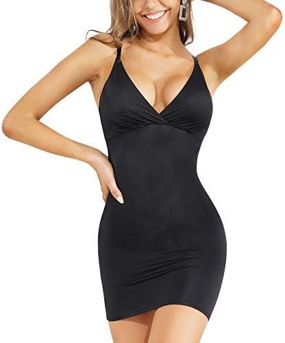 Wanfisto Women Tummy Control Slip Shapewear for Under Dresses Full Slimming Body Shaper Slip product image