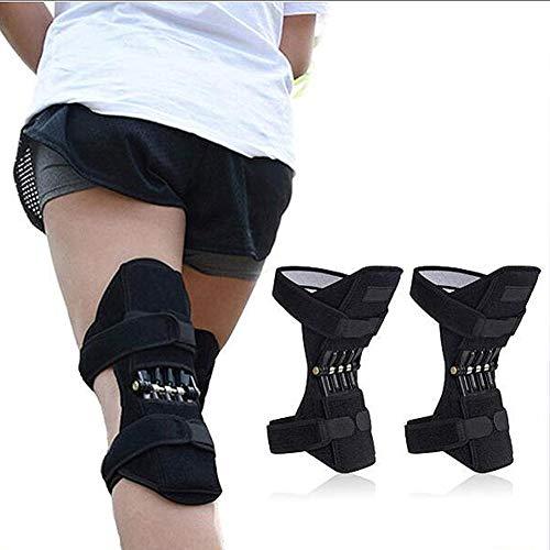 Knie-Booster Frühling Knieschoner Brace Zugstufe Booster für Squat Outdoor Sport Schmerzlinderung Old Kalt Bein, Geeignet für Laufen, Basketball Spielen