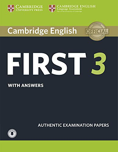 First 3. Practice Tests with Answers and Audio.