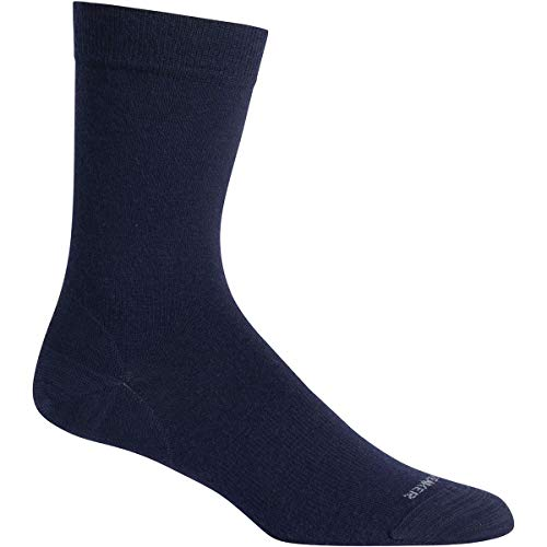 Icebreaker Lifestyle Chaussettes ultra légères pour adulte Taille fine, 104186423LXL, bleu marine, L-XL (42.5-49)