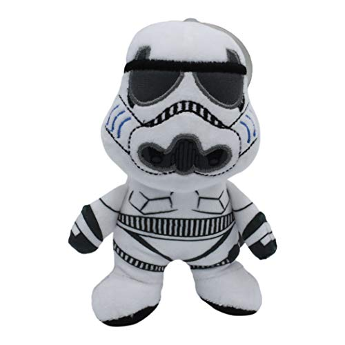 Star Wars Plush Storm Trooper Figure Dog Toy | Soft Star Wars Squeaky Dog Toy