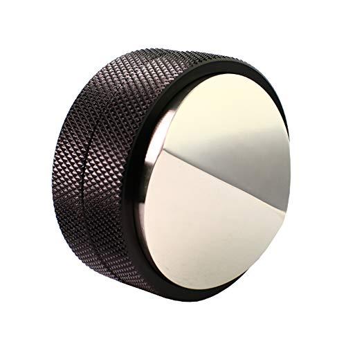 Barista Legends Distributor zwart voor zeefdragermachine 58 mm zeefdrager machine accessoire voor perfecte tampen koffie Tamper in hoogte verstelbaar massief roestvrij staal espresso tampen lagen