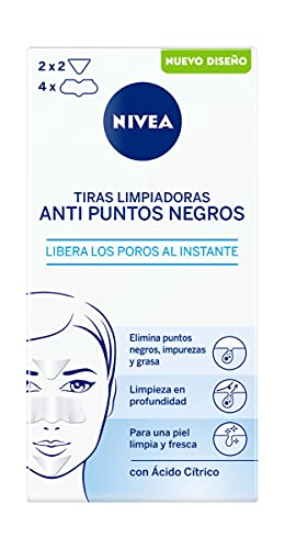 NIVEA - Tiras limpiadoras purificantes zona T para cara y rostro, 6 unidades