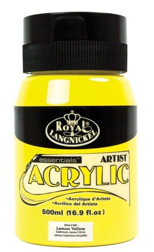 Royal & Langnickel RAA-5106 Essentials Acrylfarbe 500 ml zitronengelb