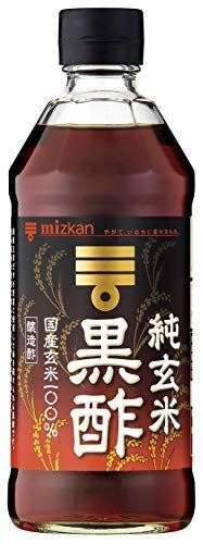 mizkan Pure Brown Rice Black Vinegar (Domestic Brown Rice 100%) 500ml