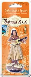 Bhama & Co. 06353 Oahu Island Hula Girl Auto Air Freshener - Quantity 5