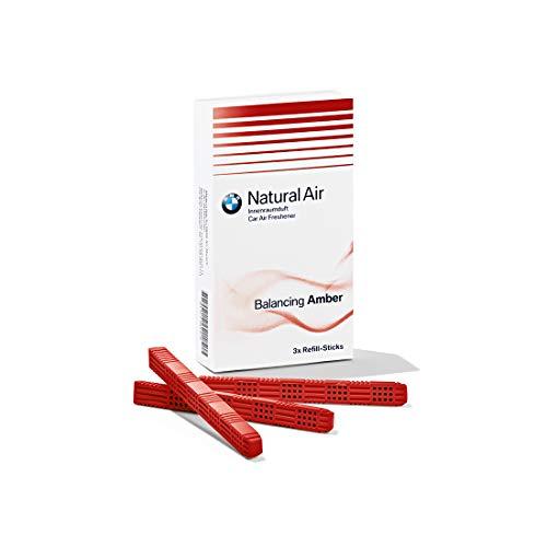 BMW Originale Natural Air Deodorante per Interni - Kit Ricarica Balancing Amber