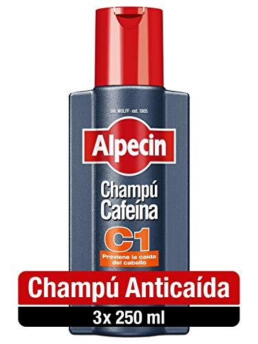 Alpecin Champú Cafeína C1 3x 250ml |...