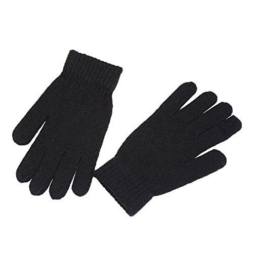 Kentop Winter Handschuhe Damen Herren Warme Handschuhe Baumwolle Handschuhe Strick Handschuhe Verwenden und warm halten