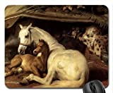 por el cojín de ratón de Edwin Landseer, Mousepad (cojín de ratón de los Caballos) MP8236
