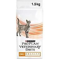 PRO PLAN VETERINARY DIETS Feline OM Obesity Management Dry Cat Food 1.5kg