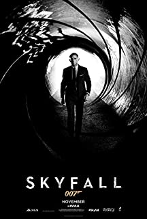 映画ポスター 007 スカイフォール OO7 SKYFALL 24×35.6inc (61×90.5cm) US版 hi3