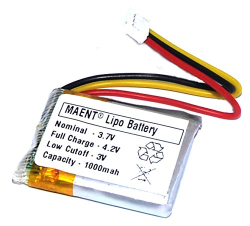 MAENT® 1000mah Replacement Lithium ion Lipo Lithium Polymer Battery for Motorola FW200L GSM Wireless Cordless Phone