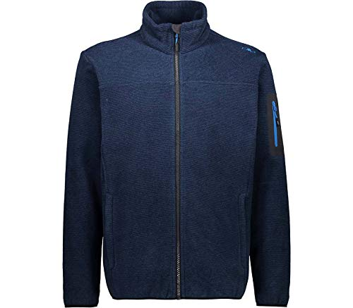 CMP Man Jacket Knitted Jacquard 38H2237 Größe 58 Blue Ink M928