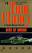 Clancy Library in an Envelope!! 4 Books (3 Paperback, 1 Hardcover) (Politika; Debt of Honor; Patriot Games; Clear and Present Danger)