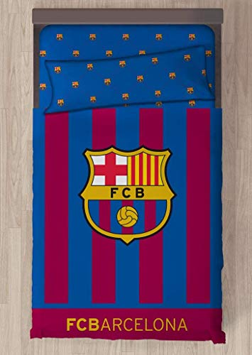 Carbotex Juego DE SÁBANAS F.C. Barcelona Escudo CENTRADO (90)