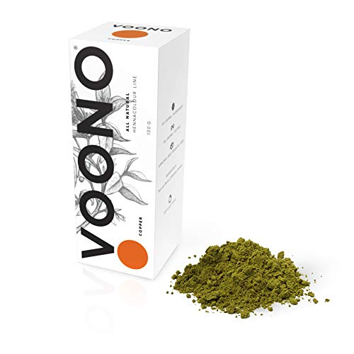 VOONO Natural Hair Colour - Henna Copper (Henna Kupfer)