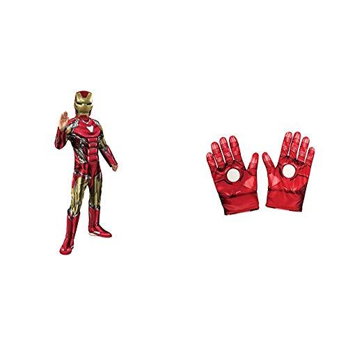 Rubies Avengers Disfraz, Multicolor, medium (700670_M) , color/modelo surtido + - Guantes de Iron Man
