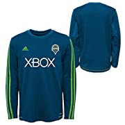100% Cotton Screen printed logo Youth boys sizing: Small (8), Medium (10-12), Large (14-16), X-Large (18-20) Officially Licensed by MLS
