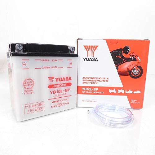 Yuasa - Batteria per scooter Piaggio 500 Beverly 2002-2007 YB10L-BP