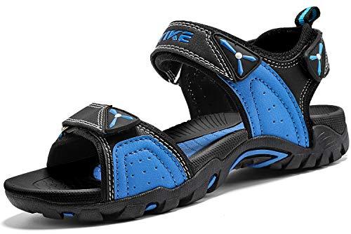 Kinder Sandalen Jungen Mädchen Beach Sandalen Trekking Sandalen, 5 Blau, 38 EU